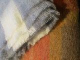 Enkel kleuren mohair dekens