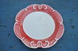 Ontbijt of dessert bord - Kasteelservies handgemaakt aardewerk_