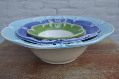 Salade schaal - Kasteelservies handgemaakt aardewerk