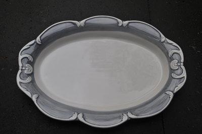 ovale schaal kasteelservies